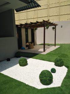 تركيب العشب