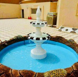 تصميم شلالات المياه